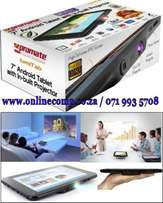 Tablet PC with Built-in DLP LED Projector