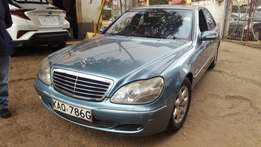 Mercedes-Benz s500 on sale