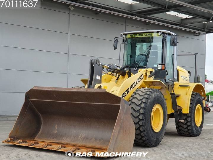 New Holland W190B German dealer machine - 2009