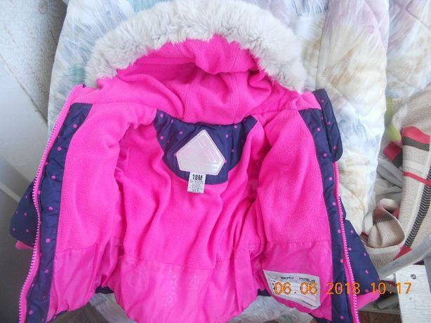 Дешево!Курточка Zeroxposur на дівчинку від 1 до 2 років фірмова Тернопіль -  зображення 2 3bef213892727