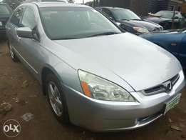 2005 Honda Accord A year Registered