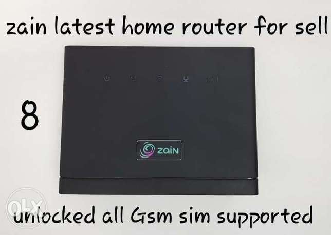 Unlocked zain 4G Router For Sell