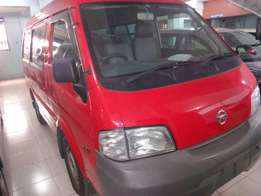 Nissan vanette red wine