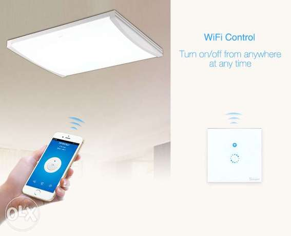 Touch smart wall switch is a 3 gang touch control luxury crystal glass