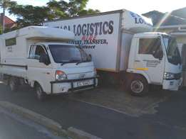 Truck hire, furniture and other goods removals, house and office moves