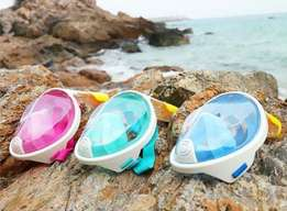 Silicone Full-Dry Diving Mask For Snorkeling