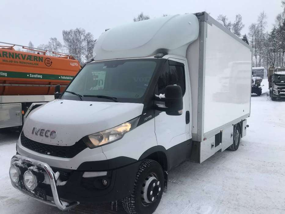 Iveco Dayli 70c17 Verksted Vogn - 2014