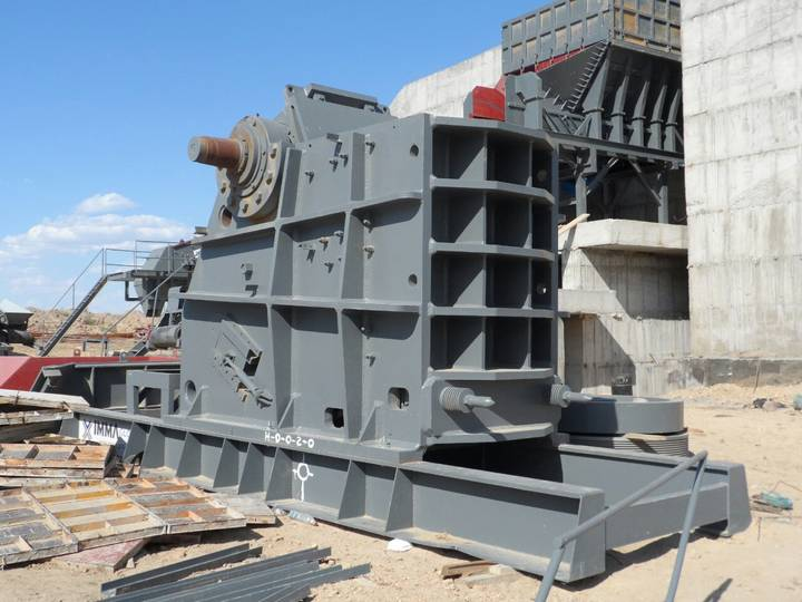 Fabo CLK SERIES 320-600 TPH PRIMARY JAW CRUSHER