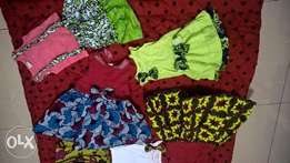 Array of Traditional-Western Dresses for girls. Ages 1-5 yrs [BATCH 2