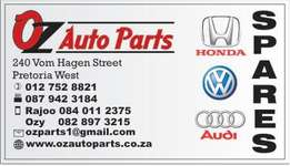 New and used VW spares are available at Oz Auto Parts
