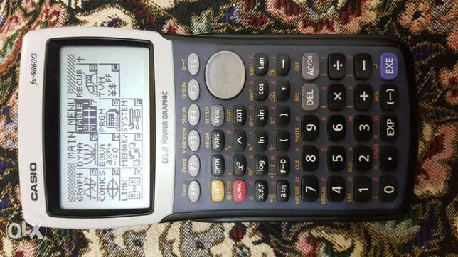 Casio FX9860 G usb power graphic calculator