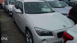 Just arrived BMW X1 2010 model. Pearl white color