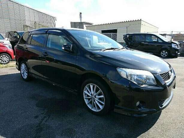 Toyota Fielder Black fully loaded Mombasa Island - image 2