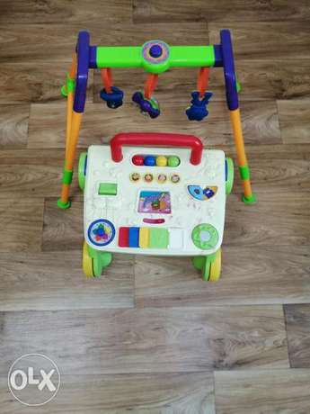 Walker & Play Stand, For sale