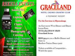 East meets West Dinner and Dance Hosted by Rekesa Events & Graceland