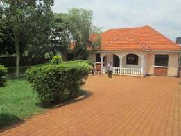 Splendid five bed room stand alone at 1.5m in Entebbe, Akright.