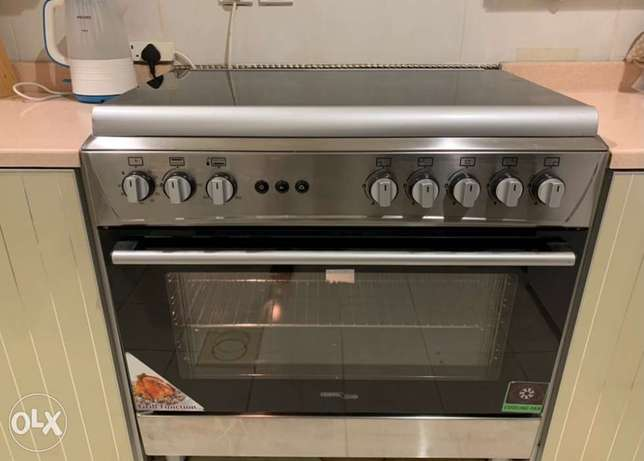 Final EXIT Gas Cooker