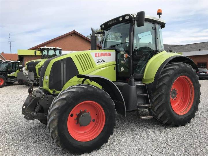 Claas Axion 840 Cebis Frontlift M.affjedret Foraksel - 2012