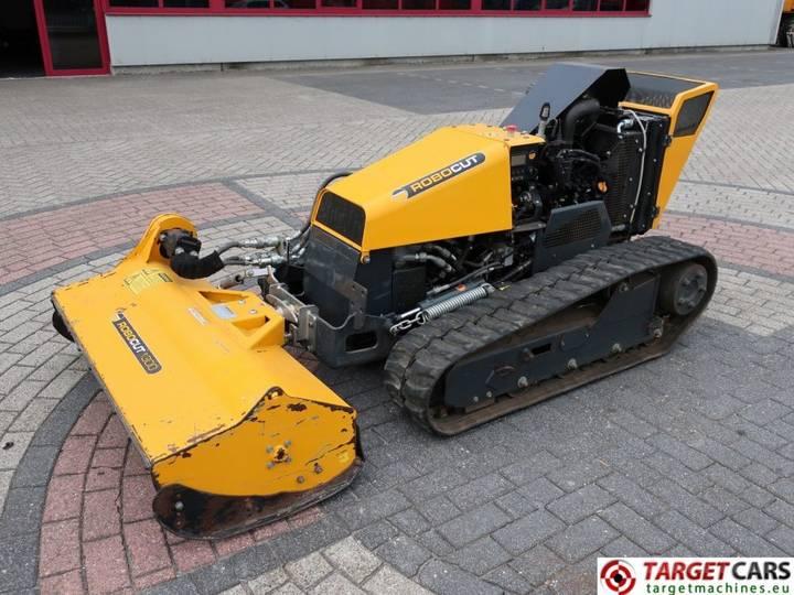 Mcconnel Robocut 1300 Tracked RC 130cm Mower Diesel - 2013