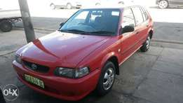 Toyota Tazz up for grabs