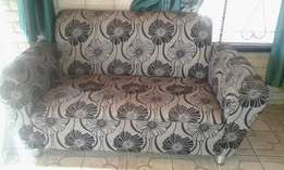 3-Piece Lounge Suite set for sale - Black and Grey