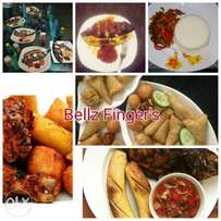 Bellz finger foods, chops, grill, smoothies