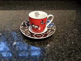 Konitz - Animal Story Espresso Cup and Saucer
