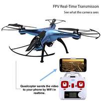 Drone - quadcopter with WiFi F.P.V. to your phone & auto altitude hold