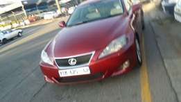2009 Lexus IS250, 172000 km for R125000