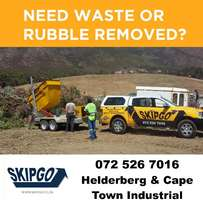 Skips for hire in South Paarl at Skipgo