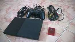 Playstation 2 chipped comes with a free memory card n free games