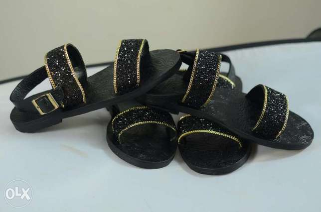 Leather sole sandal with Arabian sequence design Alimosho - image 2