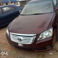 2007 Toyota avalon and get free registration of your choice