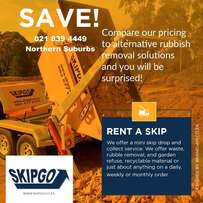 Skips for hire in Flamingo Square at Skipgo
