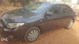 2008 Toyota Corolla with manual gear for sale