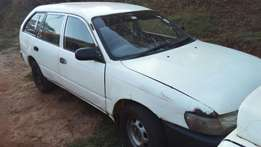 Toyota Corrolla 102 Auto,Accident free needs minor touches here there
