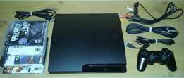 PlayStation 3 Slim Black Console Video Game Bundle! - PS3