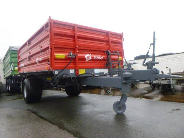 Metalfach T957, 1 Achs Dreiseitenkipper, 7to - 2019