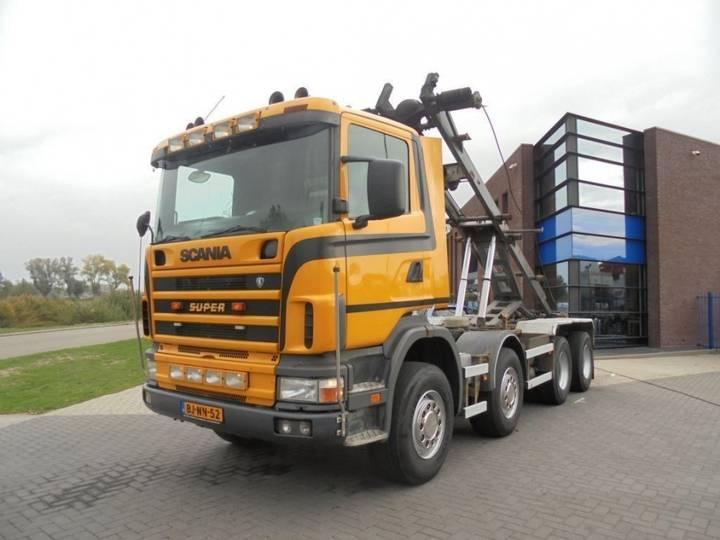 Scania 144G460 / 8x4 / Full Steel / Manual / NL Truck / 660.000 KM - 2000