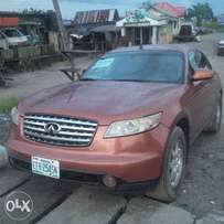 Brown infiniti fx35 available for sell