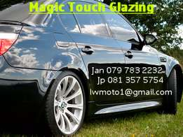 Magic touch glazing the name says it all
