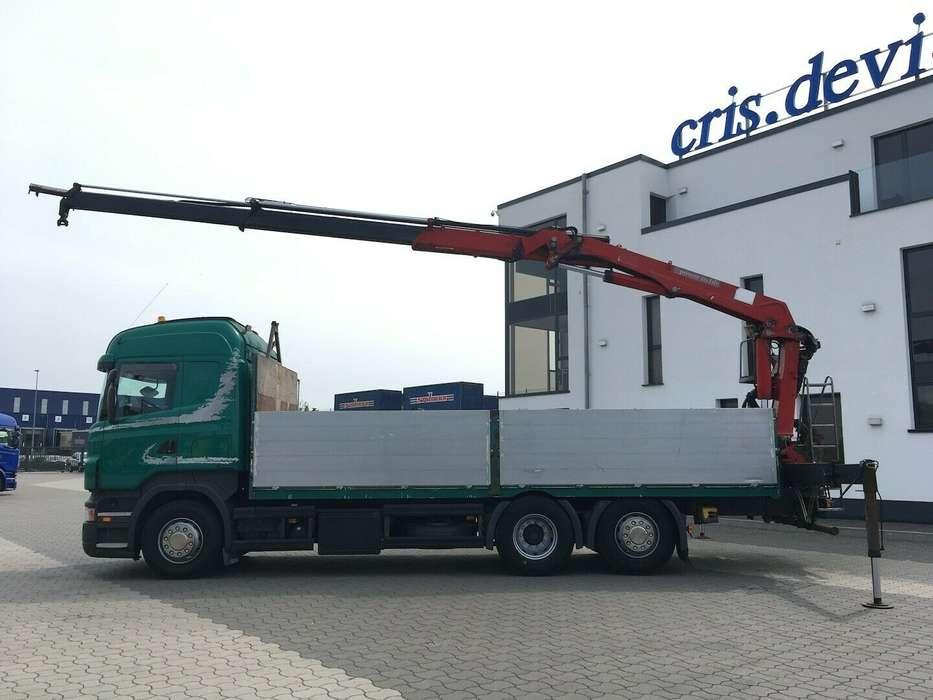 Scania R500 6x2 HMF 2000 L2 Baustoff Greiferleitung V8 - 2007 - image 2