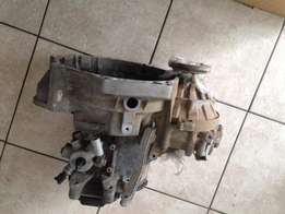 VW Caddy panelvan gearbox