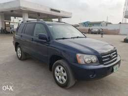 Highlander 2005 for sale for 1.9m buy and drive