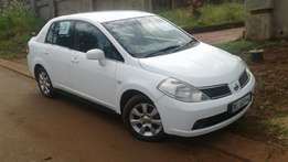Nissan tiida for sale in thohoyandou ,sibasa in makwarela