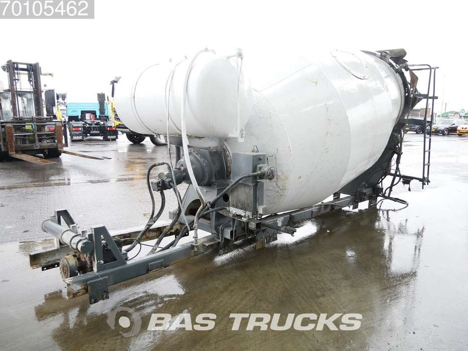 Baryval 8m³ Mixer Type AMN-8/101 - 2001