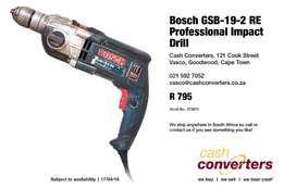 Bosch GSB-19-2 RE Professional Impact Drill