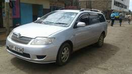 A Toyota fielder on sale
