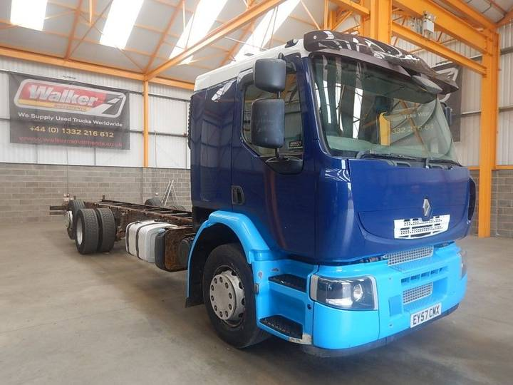 Renault PREMIUM ALLIANCE 6 X 2 CHASSIS CAB - 2007 - EY57 CMX - 2007