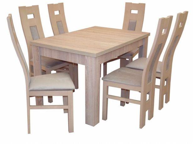 Stół 6 Krzeseł Dąb Sonoma Producent Tanio Kępno Olxpl